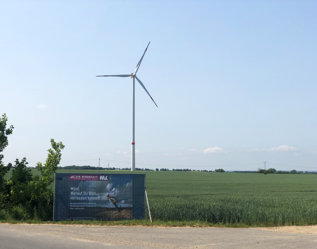 Die Windenergie Kampagne Grünow